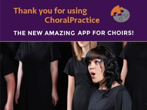 Launching ChoralPractice Premium on Jan 9th 2017